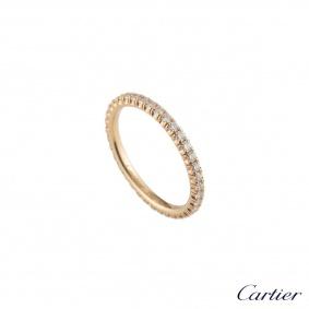 CartierRoseGold DiamondEtincelleRingB4086550